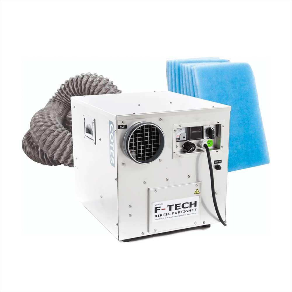 F-DRY Rotoravfukter CR400B m/slange og filter